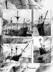 Nao Victoria - De babor a estribor y de proa a popa (Cani Mancebo) Tags: españa blancoynegro spain murcia cartagena antiguo naovictoria canimancebo