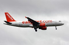 Photo of G-EZUZ Airbus A.320-214 easyJet, Felton Common, 5 October 2012