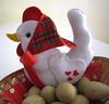 ♥♥♥ Maria Galinha... (sweetfelt \ ideias em feltro) Tags: chicken handmade decoration feitoàmão felt feltro decoração décoration handcraft déco galinhas poules feutrine faitmain