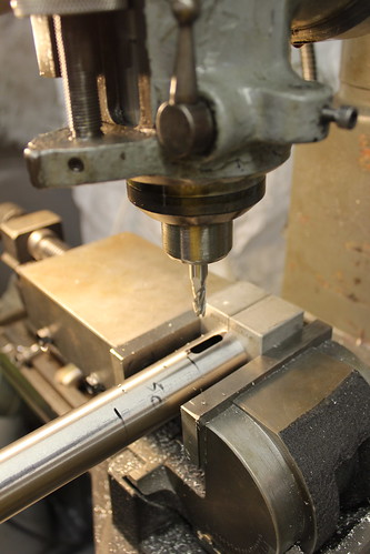 milling slot for internal cable routing