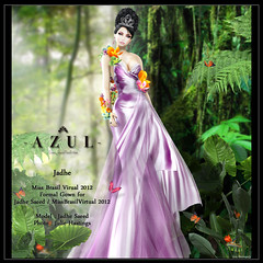 Jadhe Image (mami_jewell) Tags: woman azul dress gorgeous contest formal competition winner gown elegant newitem newrelease juliehastings jadhesaeed missbrasilvirtual