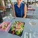 Eralda having diner // Trip to France - Fontevraud