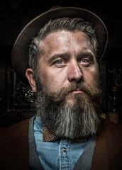 Jay (Zomtographer) Tags: portrait nikon nikond800 nikon85mm 85mm beautydish bowens bowensflash beard flashlitportrait eyes