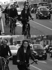 [La Mia Citt][Pedala] (Urca) Tags: milano italia 2016 bicicletta pedalare ciclista ritrattostradale portrait dittico nikondigitale mir bike bicycle biancoenero blackandwhite bn bw 872114