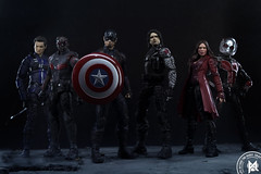 Team Captain America (advocatepinoy) Tags: articulatedcomicbookart advocatepinoy acba advocate928 toyreviews toycollection pinoytoykolektors collection marvellegends dioramas comicbooks bigbadtoystore actionfigures hawkeye jeremyrenner bootleg marvel avengers teamcaptainamerica teamcap ironman wintersoldier actionfigurereview dominicdimagmaliw filipinoyoutuber toyphotography photography art avengersorganizationinfiction avengersmovie captainamerica scarletspider antman falcon