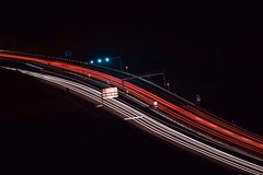 Traffic Trails (Fililla) Tags: flows lighttrails estelasdeluz longexposure largaexposicin curve curva estelas cars coches lights luces night noche nocturna d5500 nikon granada andaluca spainikon spain espaa 2016