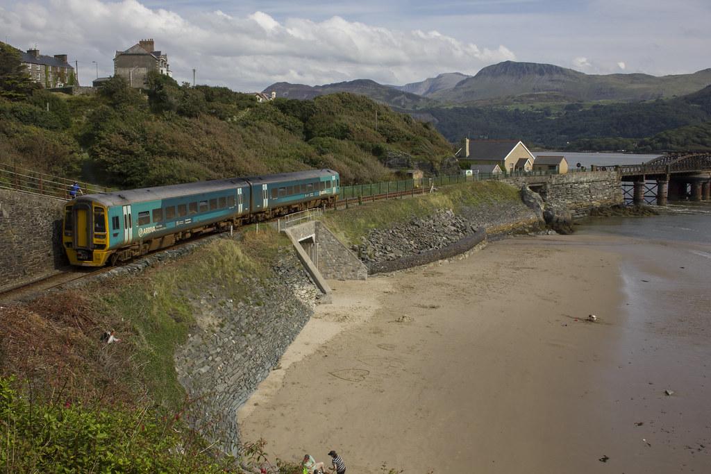 Rural railway: Barmouth, Gwynedd, north Wales