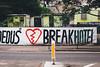 heartbreak hotel (I AM JAMIE KING) Tags: edinburgh heart heartbreak hotel scotland sign text word heartbreakhotel street road