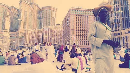 Worshipper in Mecca