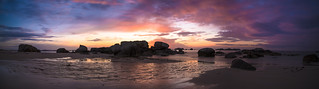 panorama  plage Meneham