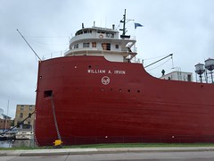 SS William A Irvin.  Duluth Minnesota, August 11 2016. (Dan Haneckow) Tags: 2016 duluth williamairvin