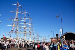 Tall Ships (3) (Jeanni) Tags: tallships ragatta 2016 northsea sails ships coast people