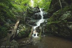 Waterfalls, I just can't resist... (SamKent22) Tags: shenandoah national park usa waterfall doyles fall man nature outdoors shower swimming fresh america