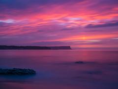 Whitepark Bay August Evening 5 (frcrossnacreevy) Tags: olympusem5 olympusm1240mmf28 sunset longexposure bigstopper 2016 august 1001nights