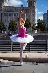 DSC06347 (liverpix) Tags: cleo dog performing anthonywalsh photowalk 500px liverpool pierhead liverbuilding ballerina ballet