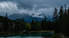 DSC_0243 (Adrian De Lisle) Tags: banff banffnationalpark mountnorquay mist cloudy bowriver