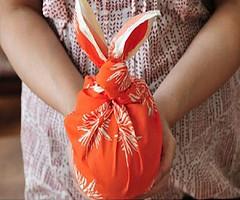 Gi qu xinh xinh t khn Furoshiki (quatangthuongyeu) Tags: lm qu handmade gift