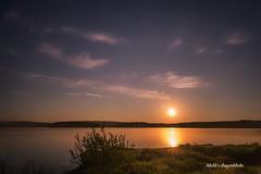 Sunrise in Bavaria...Steinberger See (Melanie Martinu) Tags: deutschland germany bayern bavaria sonne sun outdoor langzeitbelichtung sonnenaufgang see wasser water morning longexposure lake sunrise