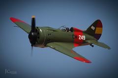 """POLICARPOV I-16 (J.A. Carreras """" Sniper"""") Tags: aprobado policarpov mosca i16 republica fio avion caza guerra"""