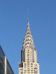 IMG_0757 (gundust) Tags: nyc ny usa september 2016 newyork newyorkcity manhattan architecture chryslerbuilding artdeco skyscraper spire lighting