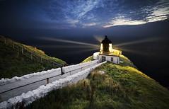 St Abbs Lighthouse, East Lothian, Scotland (MelvinNicholsonPhotography) Tags: stabbslighthouse lighthouse nightimephotography canon5ds canonuk 5ds canon1635mm gitzogt3542xls mindshiftbacklight26l eastlothian scotland coastline september september2016