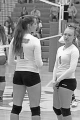 IMG_4543 (SJH Foto) Tags: girls volleyball high school lancaster mennonite pa pennsylvania team tween teen teenager varsity black white blackandwhite bw monocolour