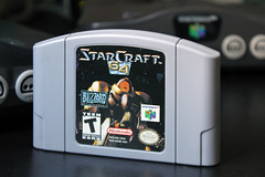StarCraft 64 (Fl Dechen) Tags: starcraft nintendo64 cartridge blizzard nintendo