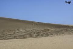 Dunes in Canary Island (tim_asato) Tags: timasato dunas dunes canaryislands islascanarias blue sand arena azul stripes lineas zigzag