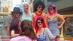 Enjoyment (soniaadammurray - OFF) Tags: digitalphotography people women fun happy enjoyment sliderssunday bus tour travel driving