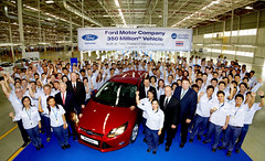 Ford today celebrates the company's 350 millio...