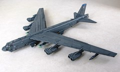B-52H Stratofortress (2) (Mad physicist) Tags: lego aircraft military bomber usaf b52 stratofortress b52h