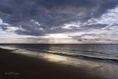 Morning has broken... (Lolav2010...) Tags: morning light sea sky beach clouds canon kent seaside sand rays ramsgate