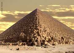 THE GREAT PYRAMID (EGYPT, CAIRO, GIZA) (KAROLOS TRIVIZAS) Tags: construction rocks pyramid geometry stones egypt boulders cairo giza megaliths imposing monumental ancientegypt greatpyramid digitalcameraclub blinkagain symmetrysteps