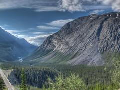 Icefields Parkway near Nigel Creek HDR 2 (fusionpanda) Tags: canada jasper alberta hdr icefieldsparkway photomatix