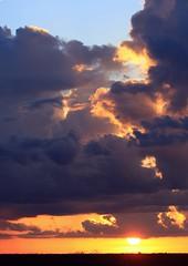 Vertical Lift (PelicanPete) Tags: sunset color nature beauty unitedstates natural florida dramatic everglades drama cloudscape floridaeverglades southflorida palmbeachcounty boyntonbeachflorida