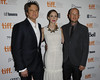 Colin Firth, Emily Blunt, and Dante Ariola 2012 Toronto International Film Festival Toronto, Canada
