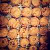 Stoop sale cookies are cooling.