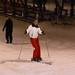 Enquanto a Michelle tentava esquiar pela 1a vez...