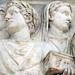 Ara Pacis, camillus, quindecemviri(?) holding acerra (box) with tripod, north procession