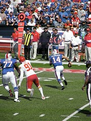 Fitz on the Run (MattBritt00) Tags: ny newyork sports football buffalo buffalobills bills stadium nfl quarterback kansascity chiefs afc americanfootball orchardpark footballstadium kansascitychiefs ralphwilsonstadium ryanfitzpatrick nationalfootballleague americanfootballconference quarterbacksneak