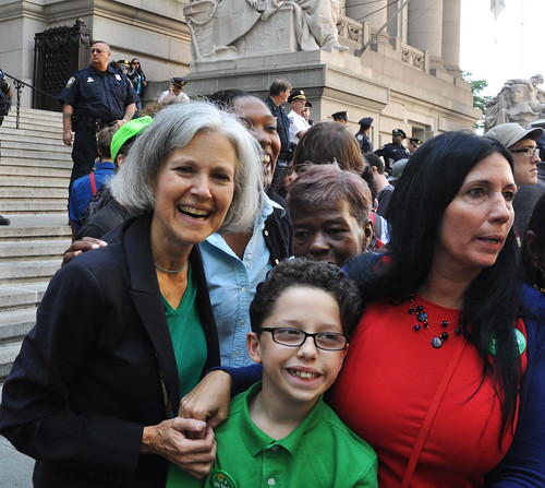 Jill Stein and Cheri Honkala, Occupy Wall Street 1 Year Anniversary. Se
