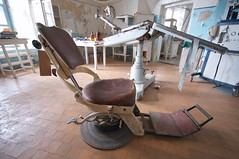 Medical room (jptoivon) Tags: abandoned nikon europa europe estonia ruin baltic medical prison soviet dentist linna 2012 eesti viro neuvostoliitto d300s