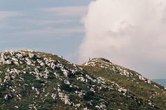 Hiker (Laszlo_Gerencser) Tags: italy film analog lago garda fuji ar tc di 100 konica analogue asa monte 35 135mm autoreflex fujicolor hexanon montebaldo baldo