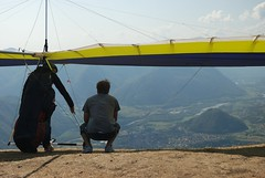 Hang_1 (Tim Meyer Paragliding Photography) Tags: slovenia tolmin soca kobala