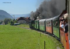 Auf der Murtalbahn (vsoe) Tags: austria österreich engine eisenbahn railway zug steam bahn öbb steamengine dampflok ige züge dampf murtalbahn dampftreffen bahntouritik