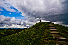 Glastonbury - The Tor - 09-26-12 (mosley.brian) Tags: england tower unitedkingdom glastonbury tor glastonburytor thetor isleofavalon