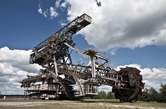 Hard Rock (ilConte) Tags: germany deutschland germania ferropolis saxonyanhalt sachsenanhalt gräfenhainichen schaufelradbagger bucketwheelexcavator sassoniaanhalt escavatorearuota