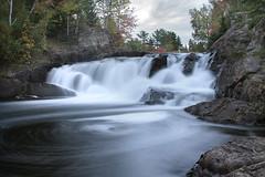 Oxtongue Falls (J. Peever) Tags: ontario falls bw10stopnd bwnd oxtonguefalls