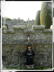 My little sister, Lily, who really quite likes Blythe <3