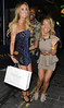 Lauren Pope leaves Anaya club after celebrating her birthday with friends London, England